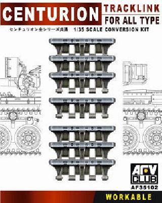 Centurion track links for AFV Club 1/35