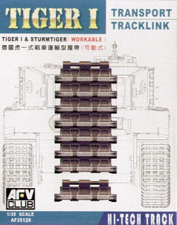 Tiger Transport track workable 1/35