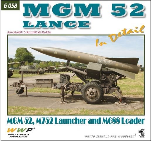 MGM 52 Lance missile system in detail
