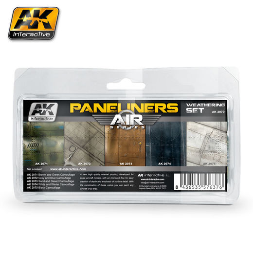 AIRCRAFT PANELINERS WEATHERING SET