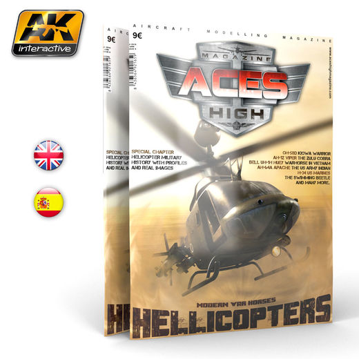 ACES HIGH ISSUE 09 HELICOPTERS