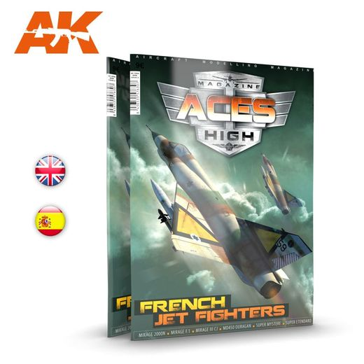 Issue 15. ACES HIGH - FRENCH JET FIGHTERS - English