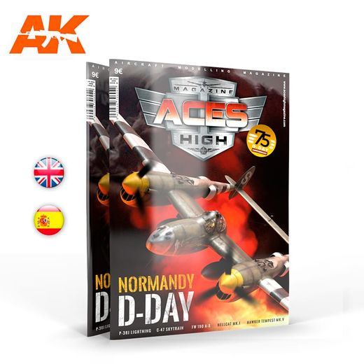 Aces High 16 NORMANDY D-DAY - English