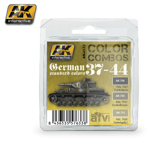 GERMAN STANDARD 37-44 COLOR COMBO - ACRYLIC