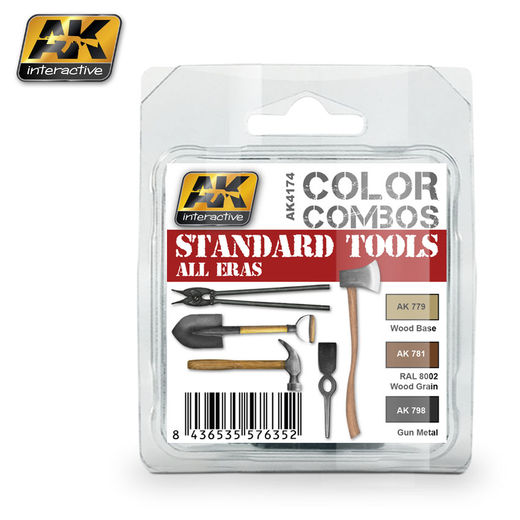 STANDARD TOOLS ALL ERAS COLOR COMBO  - AKRYYLI