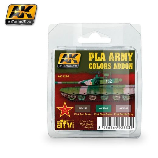 PLA ARMY COLORS ADDON - AKRYYLI