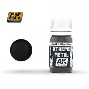 Xtreme metal Black Base 30ml
