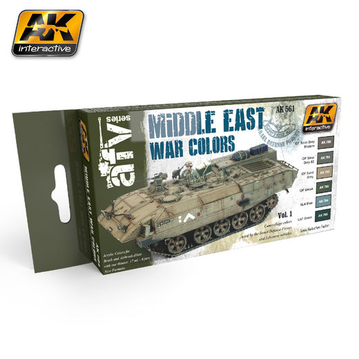 MIDDLE EAST WAR VOL.1 COLORS SET - AKRYYLI