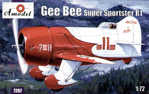 Gee Bee Super Sporster R1 1/72