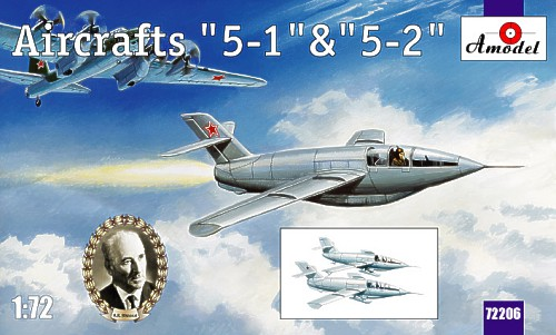 Bisnovat 5-1 & 5-2 Research Aircraft 1/72