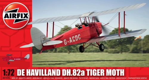 de Havilland DH.82a Tiger Moth (civil) 1/72