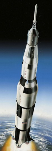 Apollo 11 Saturn V rocket 1/96