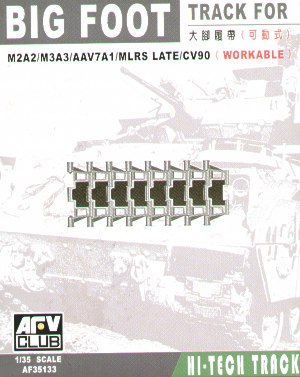 BIG FOOT TRACKS (BRADLEY/AAV7/MLRS) 1/35