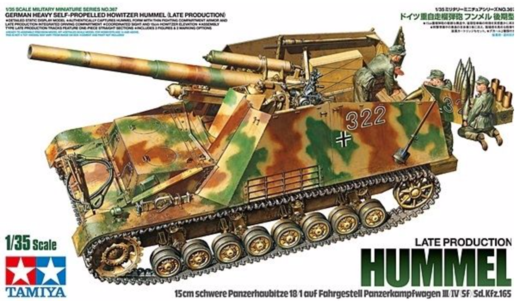 Hummel (late production) heavy SP howitzer 1/35