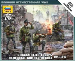 German Elite Troops (4 fig.)  1/72 SNAP