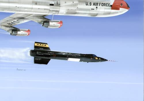 "North American X-15A-1 ""with XLR-11 Engines"" 1/32"