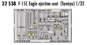 F-15C Eagle ejection seat TAM