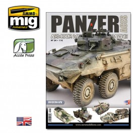 PANZER ACES Nº54 (Modern AFV - 66 pages) ENGLISH