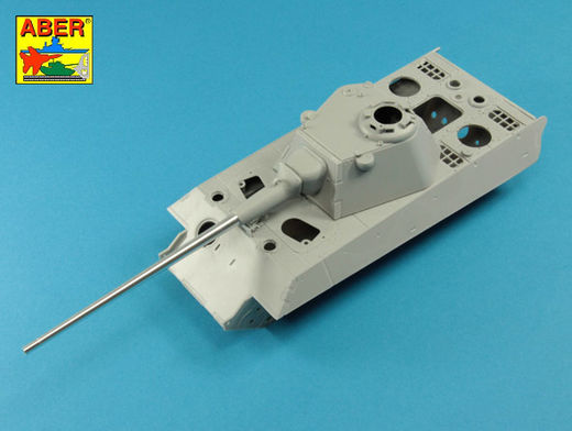 Germ.88 mm Kw.K. 43 L/91 Barrel for Panther II 1/35 Amusing Hobby