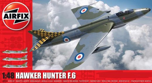Hawker Hunter F.6 1/48 UUDET MUOTIT - NEW TOOL