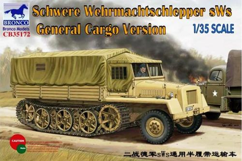 German sWs Tractor Cargo Version  1:35