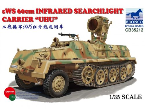 sWS 60cm Infrared Searchlight CarrierUHU  1:35