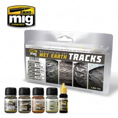 WET EARTH TRACKS WEATHERING SET