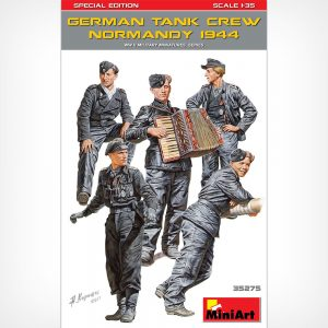 German tank crew, Normandy 1944 SPECIAL EDITION 1/35