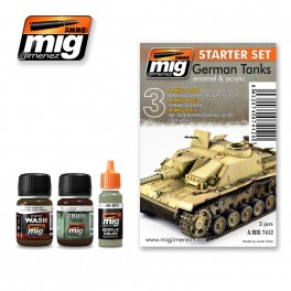 GERMAN TANKS   WEATHERING SET