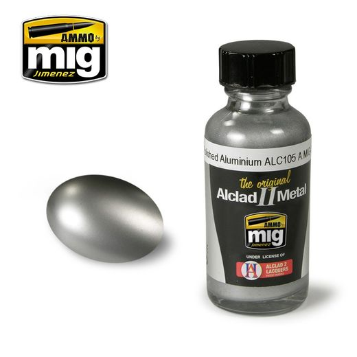 ALCLAD II - AMMO METALLIC PAINTS POLISHED ALUMIMIUM ALC105