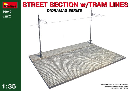 Street section w/Tram Line 1/35