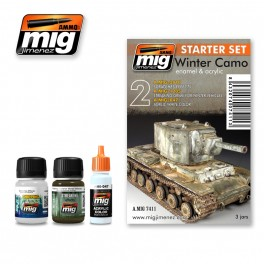 WINTER CAMO   WEATHERING SET