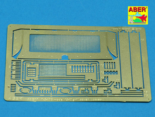 Grille covers for Soviet T-34/76 Mod.1940 (Dragon) 1/35