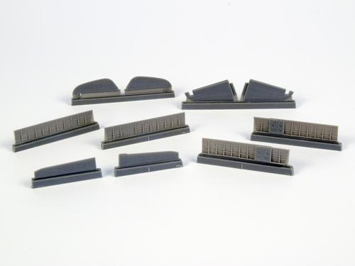 1/72 P-40 - Control Surfaces for Special Hobby kits