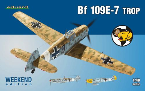 Messerschmitt Bf 109E-7 trop WEEKEND 1/48