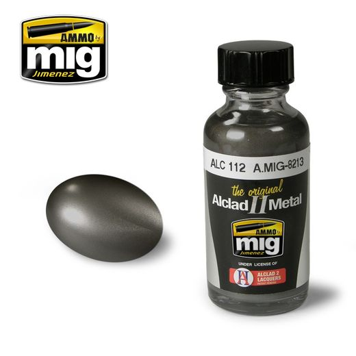 ALCLAD II - AMMO METALLIC PAINTS STEEL ALC112
