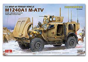 MRAP All Terrain Vehicle M1240A1 M-ATV 1/35