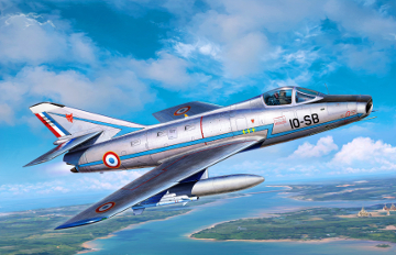Dassault Super Mystere B.2 early 1/72
