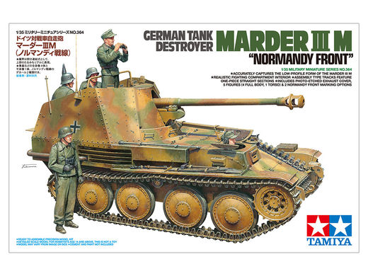 Marder III Ausf.M Tank Destroyer in Normandy 1/35