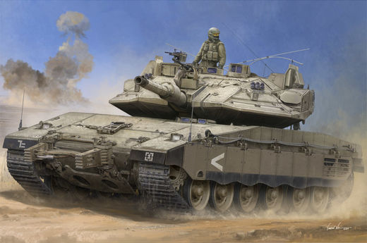Israeli Merkava Mk IV  with Trophy APS 1/35