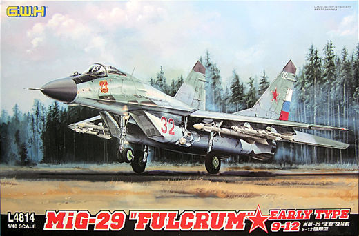 "Mig-29A Fulcrum ""9-12 Early type"" 1/48"