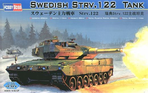 Swedish Leopard Strv.122 Tank 1/35