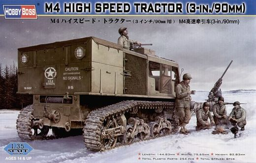 M4 high speed tractor (3in./90mm) 1/35