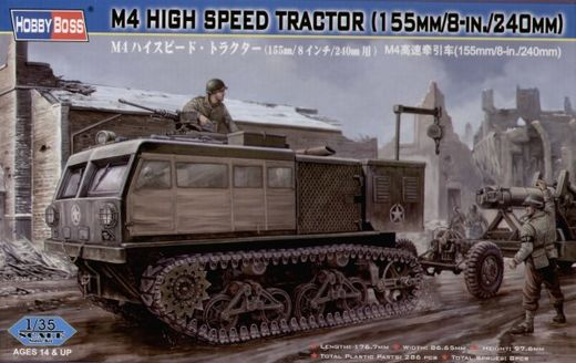 M4 high speed tractor (155mm/8in./240mm) 1/35