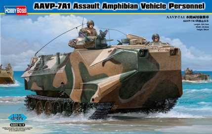 AAVP-7A1 Assault Amphibian Vehicle 1/35