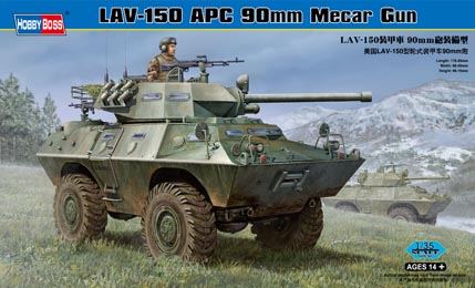LAV-150 Commando (90mm Mecar gun)  1/35