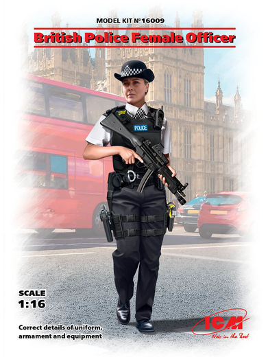 British Police Female Officer 1/16