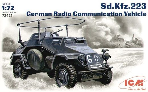Sd.Kfz.223  Radio Communication Vehicle 1/72