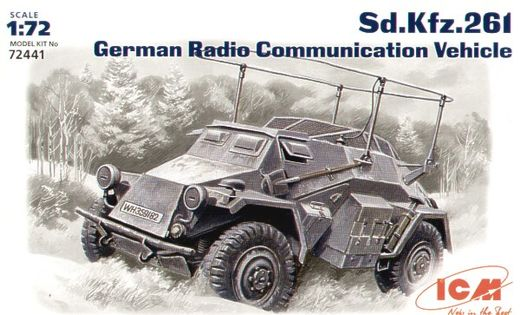 Sd.Kfz.261  Radio Communication Vehicle 1/72