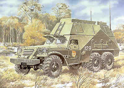 BTR-152S Soviet Armoured Command Vehicle 1/72